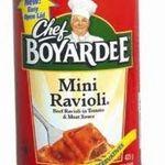 Chef Boyardee Mini Ravoli