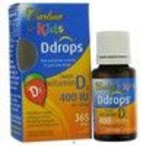 Carlson For Kids Ddrops® Liquid Vitamin D3 -- 400 IU - 365 Drops (Carlson)