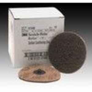 "3M 7482 4"" Coarse Scotch Brite Roloc Surface Conditioning Discs 10 Per Box"