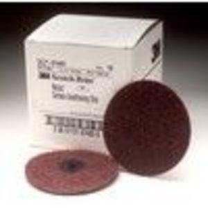 """3M 7483 4"""" Medium Scotch Brite Roloc Surface Conditioning Discs 10 Per Box"""