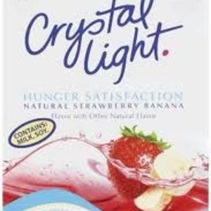 Crystal Light - Hunger Satisfaction Drink Mix in Strawberry Banana