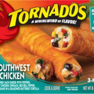 Tornados Southwest Chicken Rolls