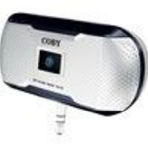Coby CSMP23 MP3 mini portable speaker system, compatible with IPod