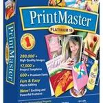 Broderbund PrintMaster Platinum 16