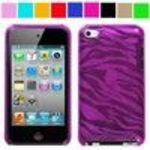 SumacLife Pink Zebra Thin Protective Case for Ipod Touch 4th Generation with Camera Suitable for 8G 32G 64...
