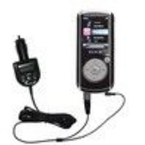 Gomadic 2nd Generation Audio FM Transmitter plus integrated Car Charger (FMT3240G2) for the RCA MC4204 OPAL Digital Medi...