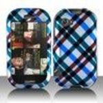Sharp Kin 2 Plaid Protective Case Faceplate Cover