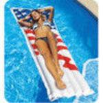 SWIMLINE AMERICANA SERIES INFLATABLE POOL MATRESS (Swimline)
