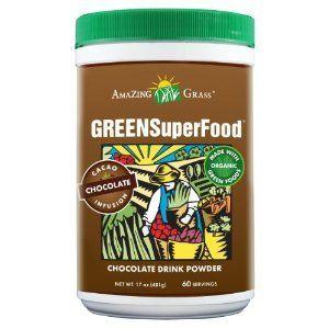Amazing Grass Chocolate Green Superfood Drink Powder