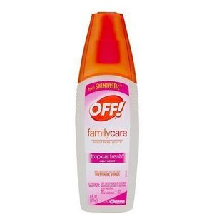 Off! Skintastic Family Care Insect Repellent, Tropical Fresh