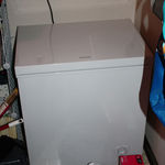 Frigidaire 5.1 cu ft chest freezer FFFC05M3LW