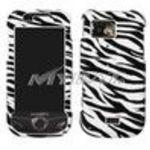 Samsung A897 (Mythic) Zebra Skin Phone Protector Cover Case
