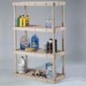 Rubbermaid 4 Shelf Utlity Storage Unit 7087-60