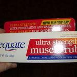 Equate Ultra Strength Muscle Rub