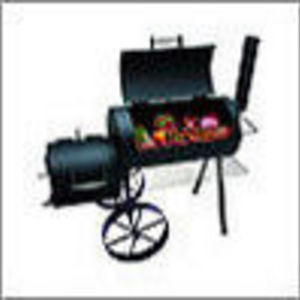 Brinkmann Cimarron 855-6306-6 Charcoal All-in-One Grill / Smoker