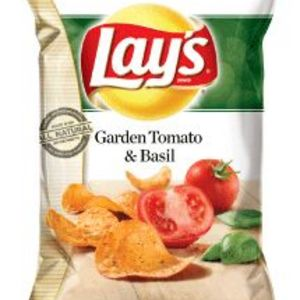 Lay's - Garden Tomato and Basil Potato Chips