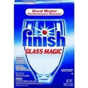 Finish Glass Magic Dishwasher Performance Booster