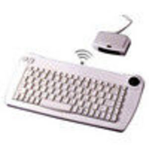 Adesso ACK-573PW Wireless Keyboard, Trackball