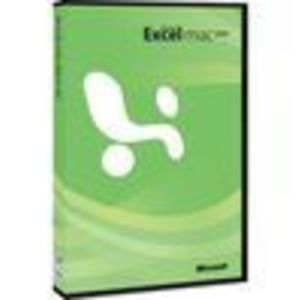 Microsoft EXCEL 2008 FOR MAC Full Version (D46-00607)
