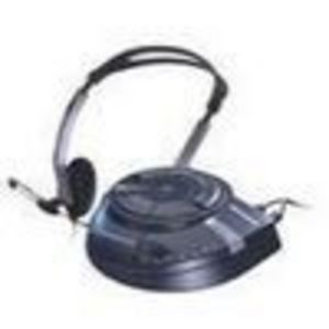 Microsoft SideWinder Game Voice - Headset ( semi-open ) - black
