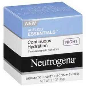 Neutrogena Ageless Essentials Continuous Hydration Cream Cleanser