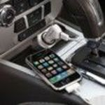 Brookstone Car Charger Car / Plane Charger (641423) for iPod & iPhone