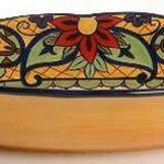 Corsica Crown Jewel Oval Vegetable Bowl