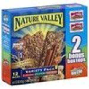 Nature Valley Crunchy Granola Bars, Variety Pack of Cinnamon, Oats 'n Honey, and Peanut Butter, 12-Count Boxes (Pack of 6) (Nature's Valley)