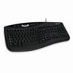 Microsoft Comfort Curve Keyboard 2000 - USB - QWERTY - Black - English - Pack of 5 (NWD00001)