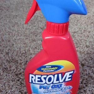 Resolve Pet Oxi Advanced Carpet Stain Remover