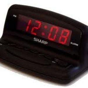 Sharp - spc026a Alarm Clock
