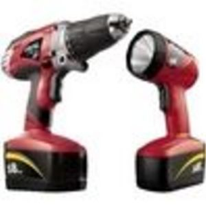 Factory-Reconditioned Skil 2887-09-RT 18V Reconditioned Drill and Flashlight Kit