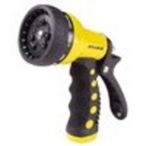 Dramm Revolver 9-Pattern Premium Garden Hose Nozzle - Yellow #12703