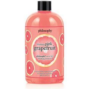 Philosophy Blushing Pink Grapefruit Bubble Bath and Shower Gel