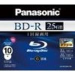 Panasonic Blu-ray Disc - 25GB 6X BD-R - [2010 Model] (LMBR25MH10N) Media (10 Pack)