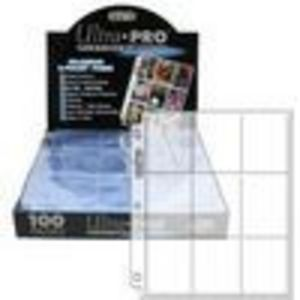 Ultra Pro 9-Pocket Trading Card Storage---Platinum Series (100 Pages)
