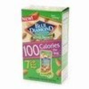 Blue Diamond Almonds 100 Calorie Bags, Whole Natural 7 ea (Blue Diamond)