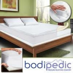 Bodipedic 3-inch Memory Foam Mattress Topper and Cover Set
