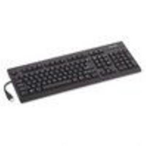 Kensington : Keyboard for Life Slim Spill-Safe Keyboard, 104 Keys, Black -:- Sold as 2 Packs of - 1 ... (KMW643702PACK)