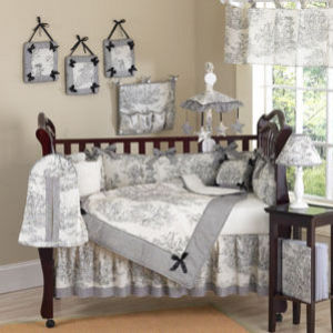 JoJo Designs French Toile 9pc Crib Set