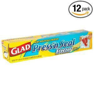Glad Products Press 'N Seal Freezer Wrap