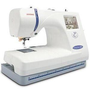 Janome Memory Craft Computerized Embroidery & Sewing Machine