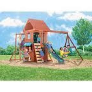 Big Backyard Ridgeview Wood Gym/Swing Set