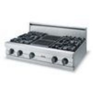 Viking Pro VGRT3626B Stainless Steel (Gas) 36 in. Cooktop