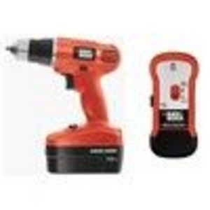 Black & Decker #GC18SF 18V Drill/Studfinder