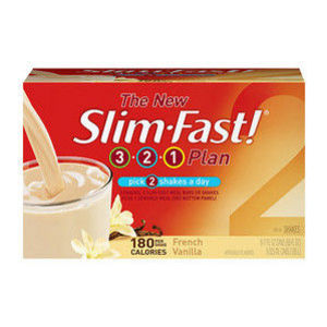 Slim-Fast 3-2-1 Plan, Ready To Drink Shake, French Vanilla