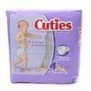 Cuties Premium Baby Diapers Size 4 31