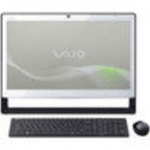 Sony VAIO J Series White All-In-One Touch Screen Desktop Computer - VPCJ118FX/W