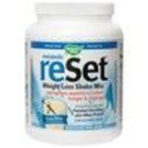 Metabolic ReSet Vanilla 630g (Manufacturer Out of Stock- ETA Mid May 2010) 630 g Powder (Nature's Way)