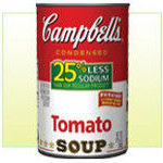 Campbell's Tomato Soup, 25% Less Sodium